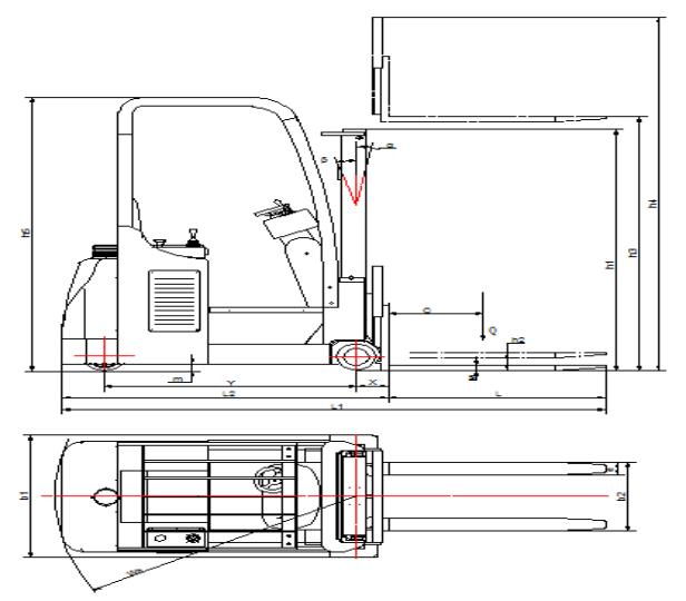 机器尺寸示意图1