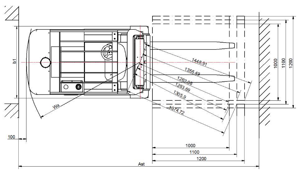 机器尺寸示意图2