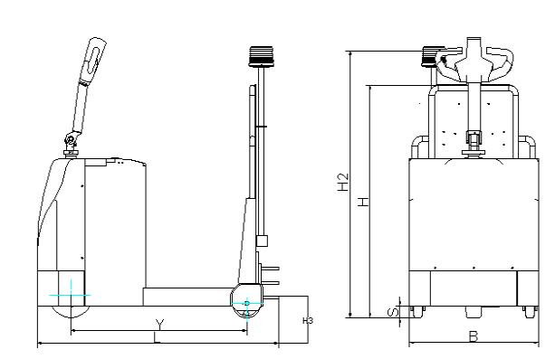 LFK20S机器尺寸示意图